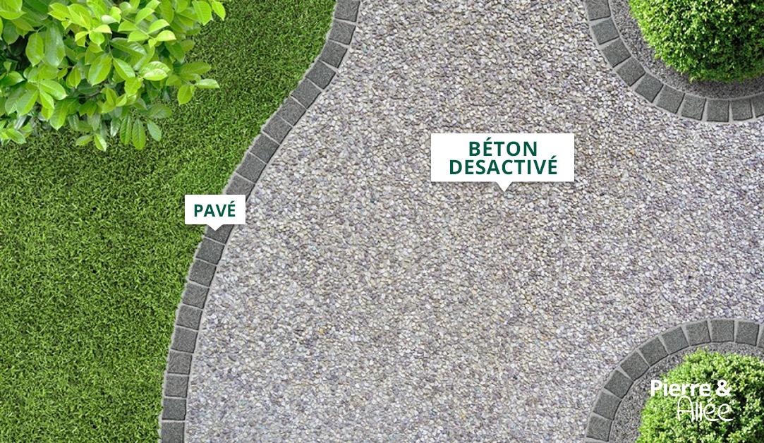 chemin beton desactive